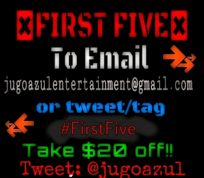 Email Jugo Azul Entertainment to find out how to get exclusive deals on packages